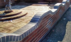 Brick Wall and Patios -Lincolnshire Landscaping