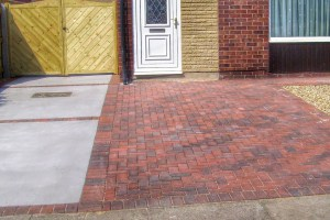 Concrete and Block Paving Driveway -Landscape Gardeners in Lincolnshire