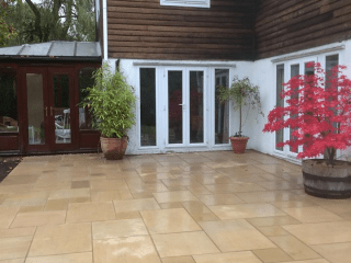 Lincs Landscaping Patio