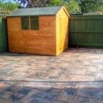 Patios and sheds - Lincolnshire Landscaping