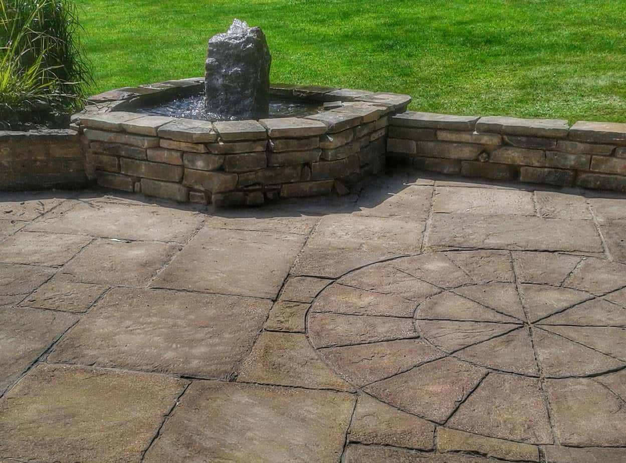 Landscape Gardeners Lincolnshire -Patios & Water Pond