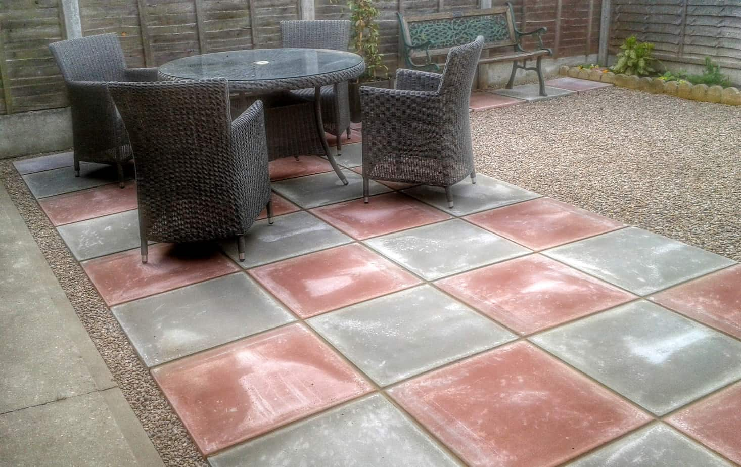 Patios with Slabs & Gravel - Landscape Gardeners in Lincolnshire
