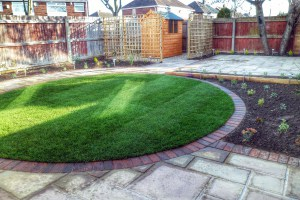 Turfing and Planting Shrubs -Landscape Gardeners Lincolnshire